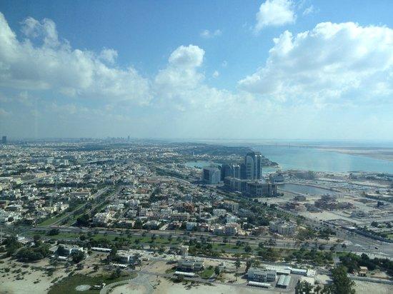 The St. Regis Abu Dhabi: City view