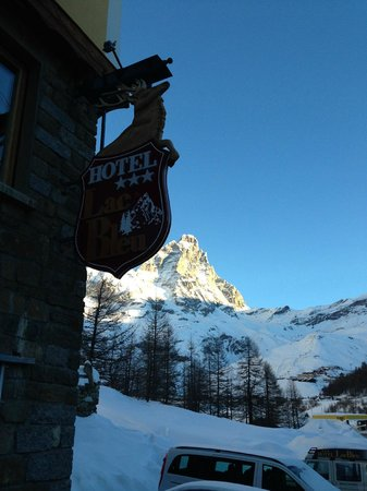 Hotel Lac Bleu : View from the hotel