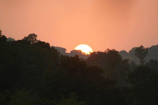 The Amba Resort : Sunset Of Amba area