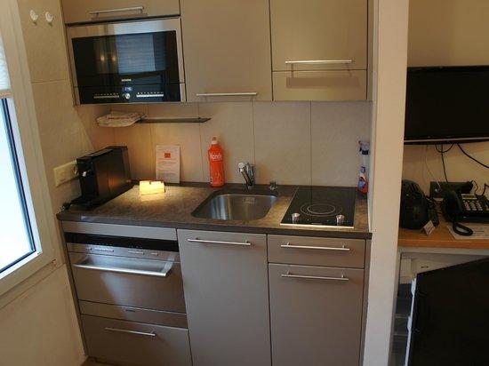 Alpine Lodge : Küche