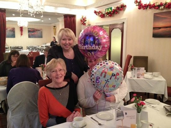 BEST WESTERN PLUS The Connaught Hotel: Celebrating my Mums Birthday at the Connaught Hotel :)