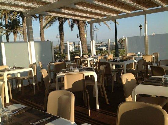 Terrazza vista mare - Picture of Miramare ristorante, Trapani ...