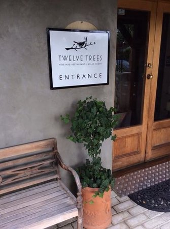 Twelve Trees: Lovely setting, but don't order the kids meals