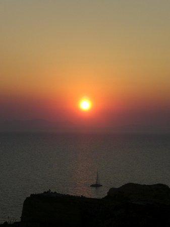 Privee Santorini: tramonto oia