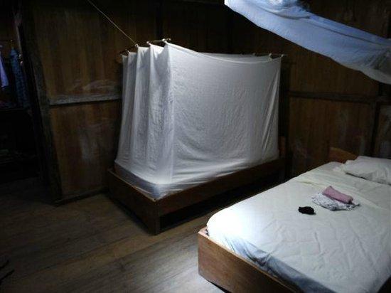 Ivy Mara Ey Lodge: Zimmer mit Moskitonetzen...