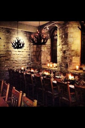Blackfriars Restaurant : Christmas Time in the Banqueting Hall
