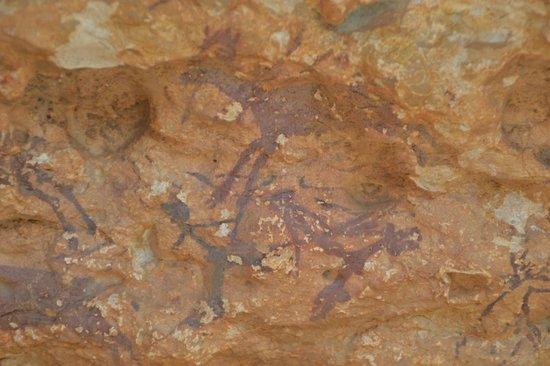 Ermita de la Pietat: Pinturas rupestres, arte levantino