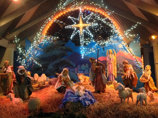 La Salette Shrine, Festival of Lights, Attleboro, MA - Picture of ...