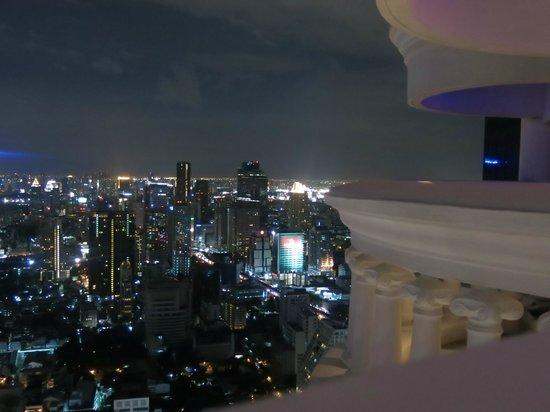 Tower Club at Lebua: Aussicht Zimmer