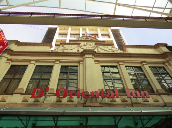 D'Oriental Inn, Kuala Lumpur : Hotel facade