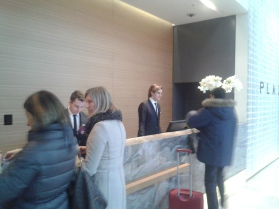Radisson Blu Plaza Hotel Ljubljana: La reception