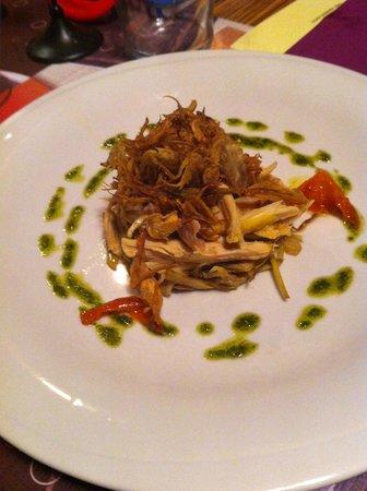 Baravan Ristorante - Cucina e Cantina: cappone e carciofi