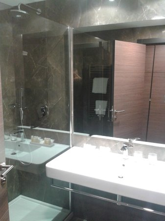 Radisson Blu Plaza Hotel Ljubljana: Il bagno