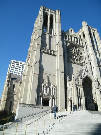 Grace Cathedral: exterior