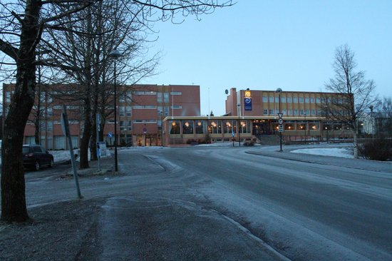 Sortland Hotell: The front of the hotel