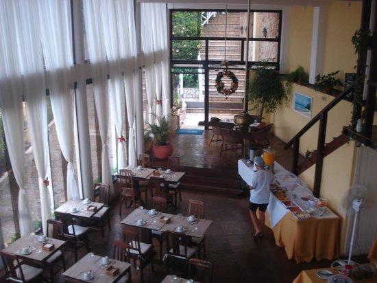 Hotel Pousada e Spa Villa Mercedes: el desayunador lo mejor