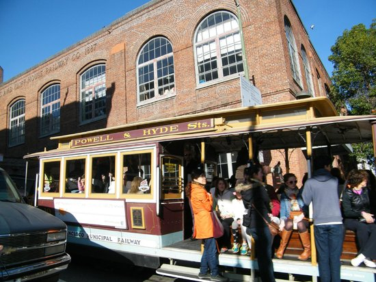Cable Car Museum: exterior