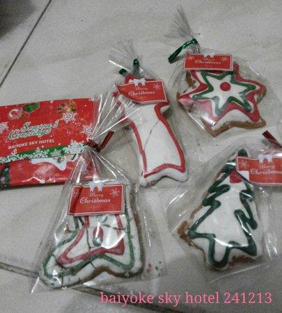 Baiyoke Sky Hotel: Xmas gifts