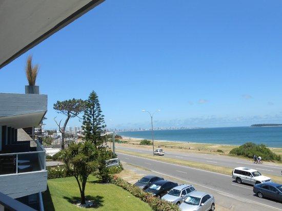 Baie des Anges Apart Hotel: vista desde el balcon