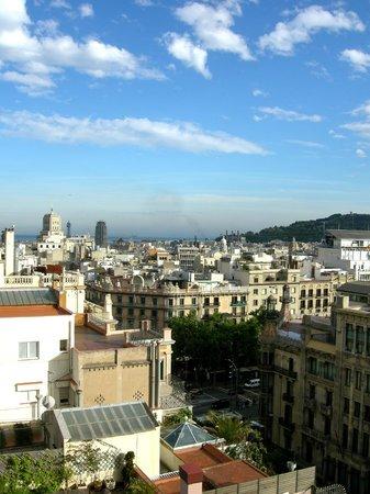 NH Collection Barcelona Gran Hotel Calderon : Aussicht vom Zimmer