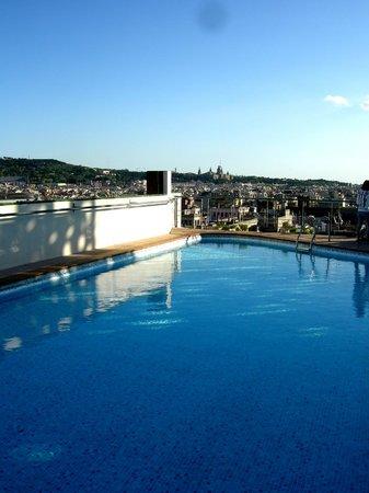 NH Collection Barcelona Gran Hotel Calderon : Pool