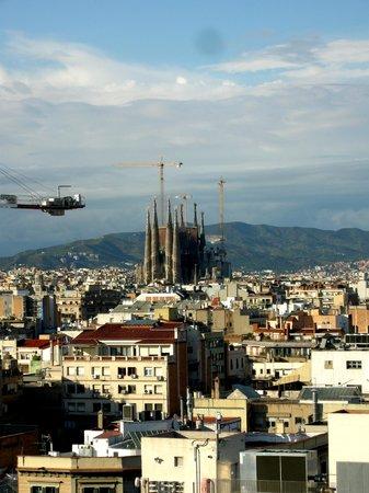 NH Collection Barcelona Gran Hotel Calderon: Dachausblick