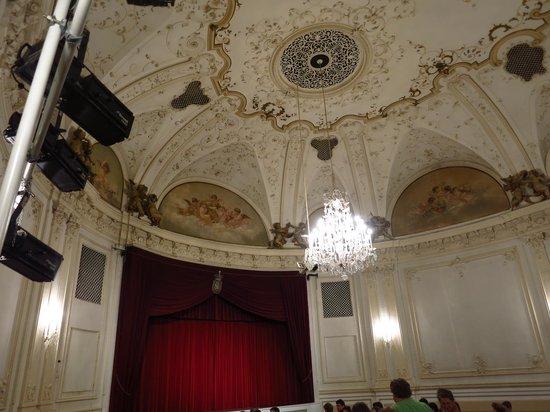 Salzburger Marionetten Theater: Ceiling