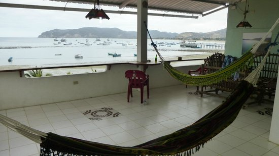 Punta Piedrero Ecolodge : View from the 2nd floor