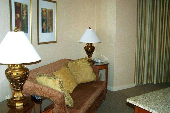 Omni Mandalay Hotel at Las Colinas : Living area