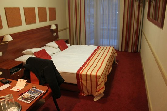 City Inn : la camera da letto