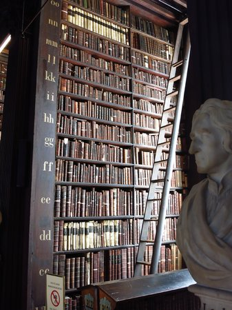 The Book of Kells and the Old Library Exhibition: shelf