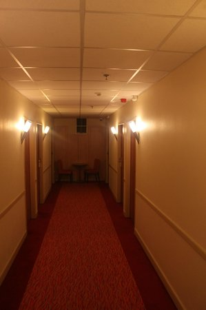 City Inn: corridoio