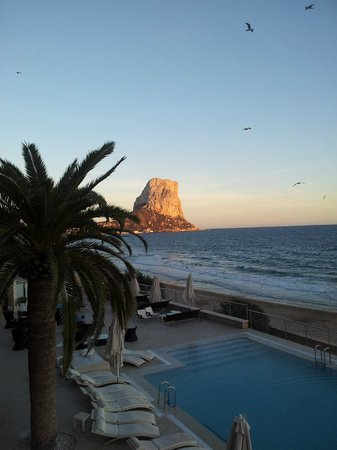 Gran Hotel Sol y Mar: View from the Champagne bar