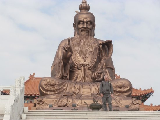 The Yuen Yuen Taoist Temple of Guangdong: This must have been 100 metres high
