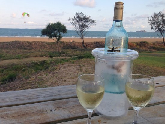 Driftwood Motel & Holiday Units: Great spot to sit and take it all in �� wine cooler supplied in our unit (3)