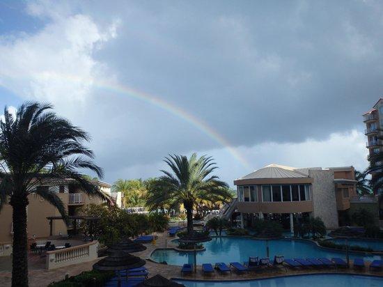 Divi Aruba Phoenix Beach Resort: View from our 2nd floor room