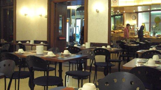 Hotel Centrale: comedor