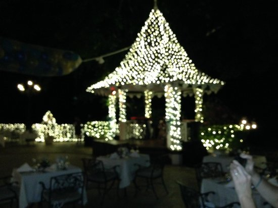 Sandals Royal Plantation : Sandals New Years 2014 Terrace