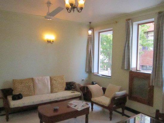 Om Niwas: living area, plenty of sunlight