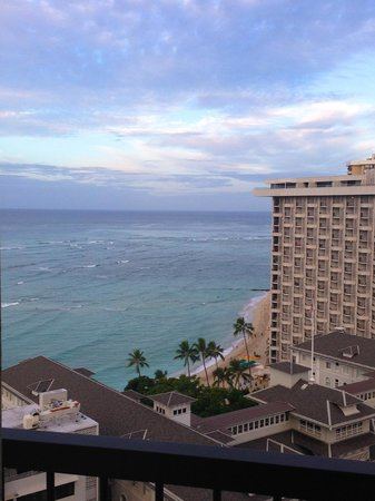 Hyatt Regency Waikiki Resort & Spa : view from room at Hyatt Waikiki