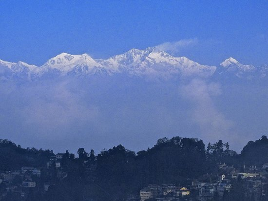 Sinclairs Darjeeling: View from the Terrace