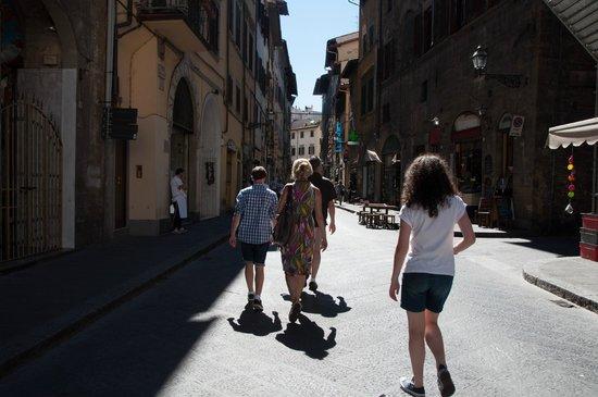 Florence Custom Tours: on tour!