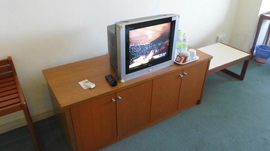JB Central Hotel: Blurry TV