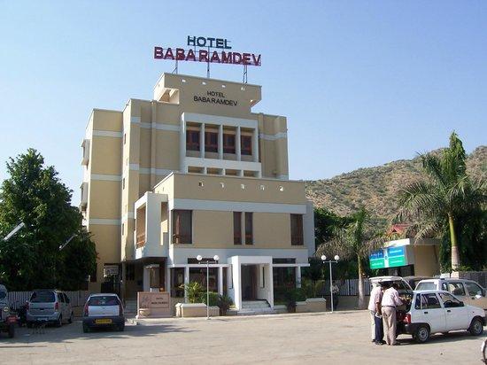 Baba Ramdev Restaurant: front face of hotel