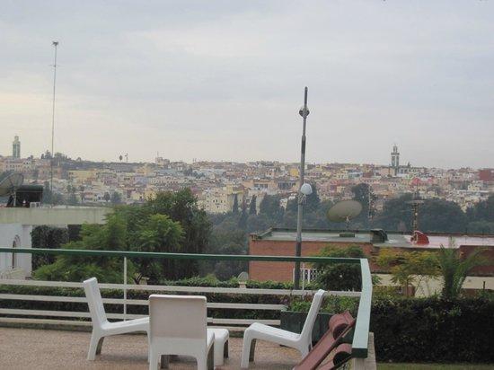 Hotel Transatlantique Meknes: VUE SUR MEKNES