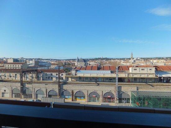 Ibis Budget Nimes Centre Gare : vistas desde el 6 piso