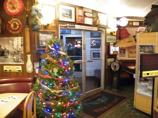 Santa Cruz Diner: inteiror
