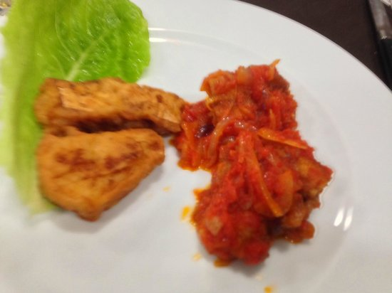 Osteria dal Lello: Bacclà fritto e con cipolle