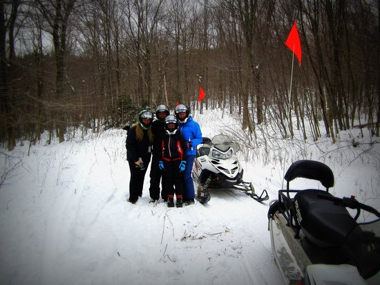 Vermontology Guided Day Tours: Snowmobiling at Killington- Vermont Tours