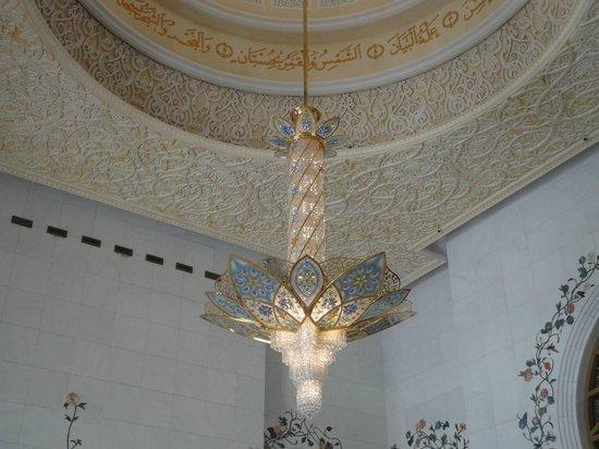 """Scheich-Zayid-Moschee: Lampadario """"piccolo"""""""